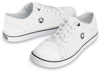 4457f2e3f4e CROCS Hover Lace Up White White
