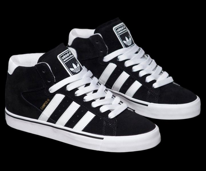 11027e4958 ... usa adidas skateboarding campus vulc mid black white e1858 c8647