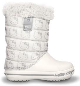 pretty nice 1f7f9 62494 CROCS Hello Kitty Gust Boot Oyster   Boots » Crocs » winter ...