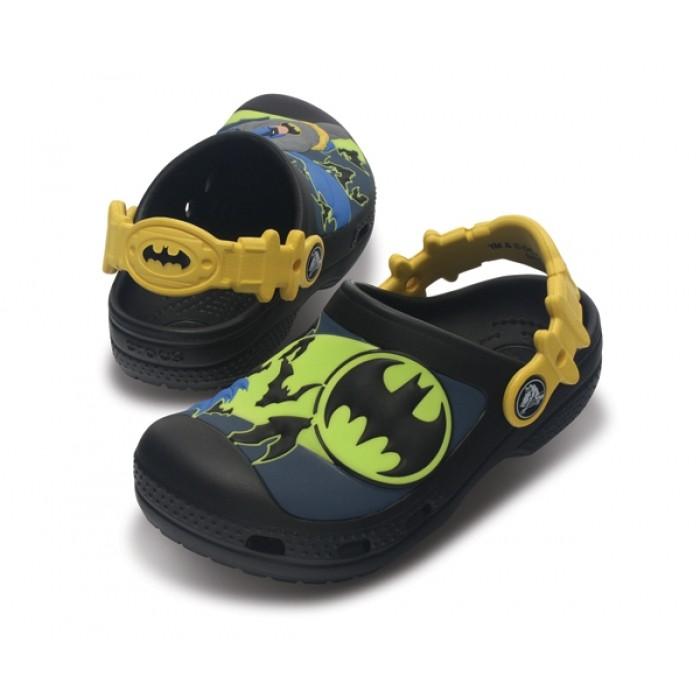 CROCS Kids  Batman™ Custom Clog black sea blue  2c1894cd4d
