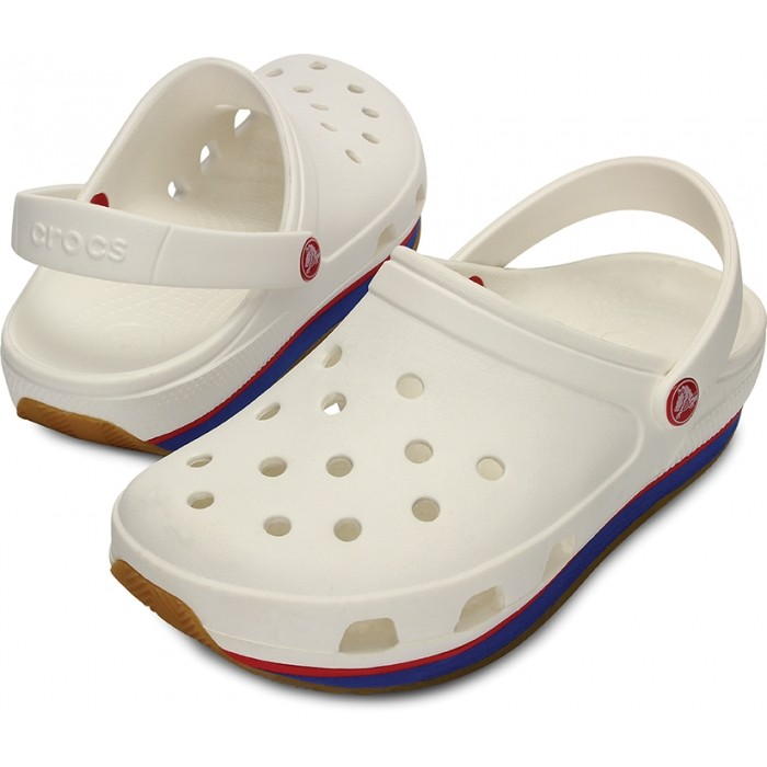 9bbfc09619f28 CROCS retro clog white/red | Boots » Crocs » sandals @ STREETMARKET ...