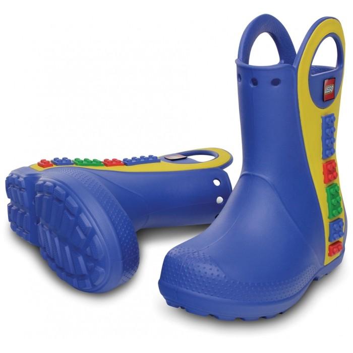 CROCS Handle It LEGO Rain Boot Sea Blue  d06e12fa37