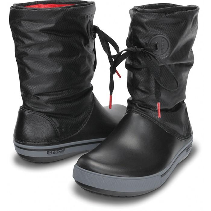 e78252987 CROCS Crocband II.5 Lace Boot Black/Charcoal   Topánky » CROCS ...