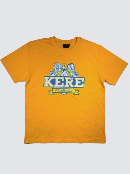 12Roll Pánske tričko KERE Gelb  07c44c4e447
