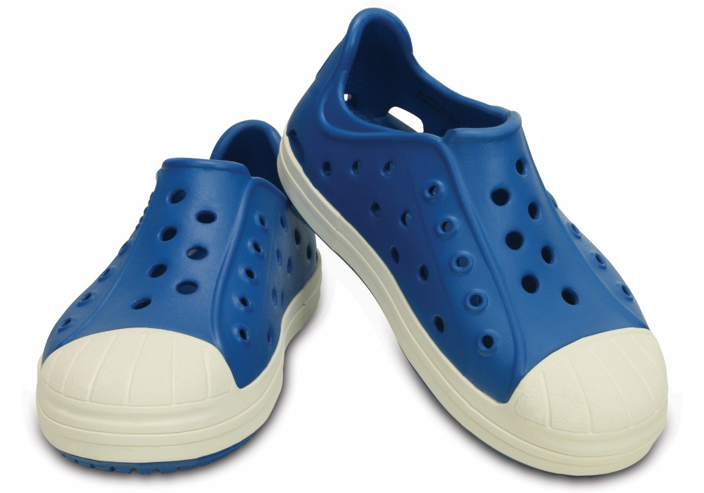 CROCS Bump It Shoe Kids Ultramarine Oyster  e0b01a98c5f
