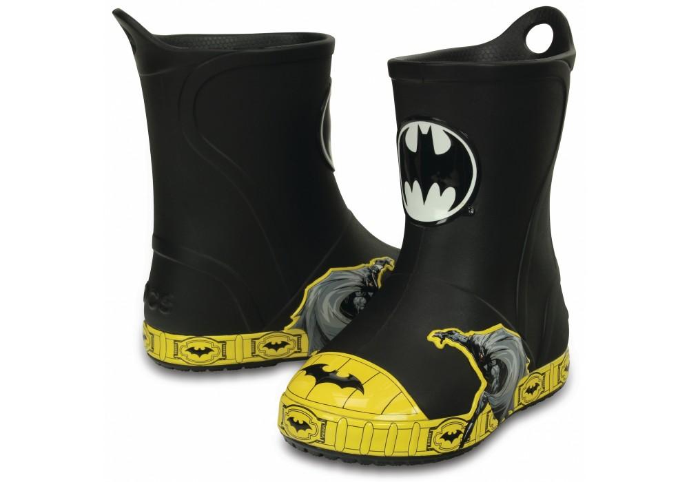 CROCS Bump It Batman Boot Navy  043981c82d7