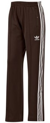 Supergirl Track Pant dark brown