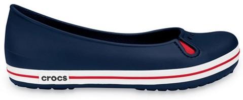 ab24ae30bb96ad CROCS Crocband Flat navy | Boots » Crocs » pumps @ STREETMARKET.sk ...
